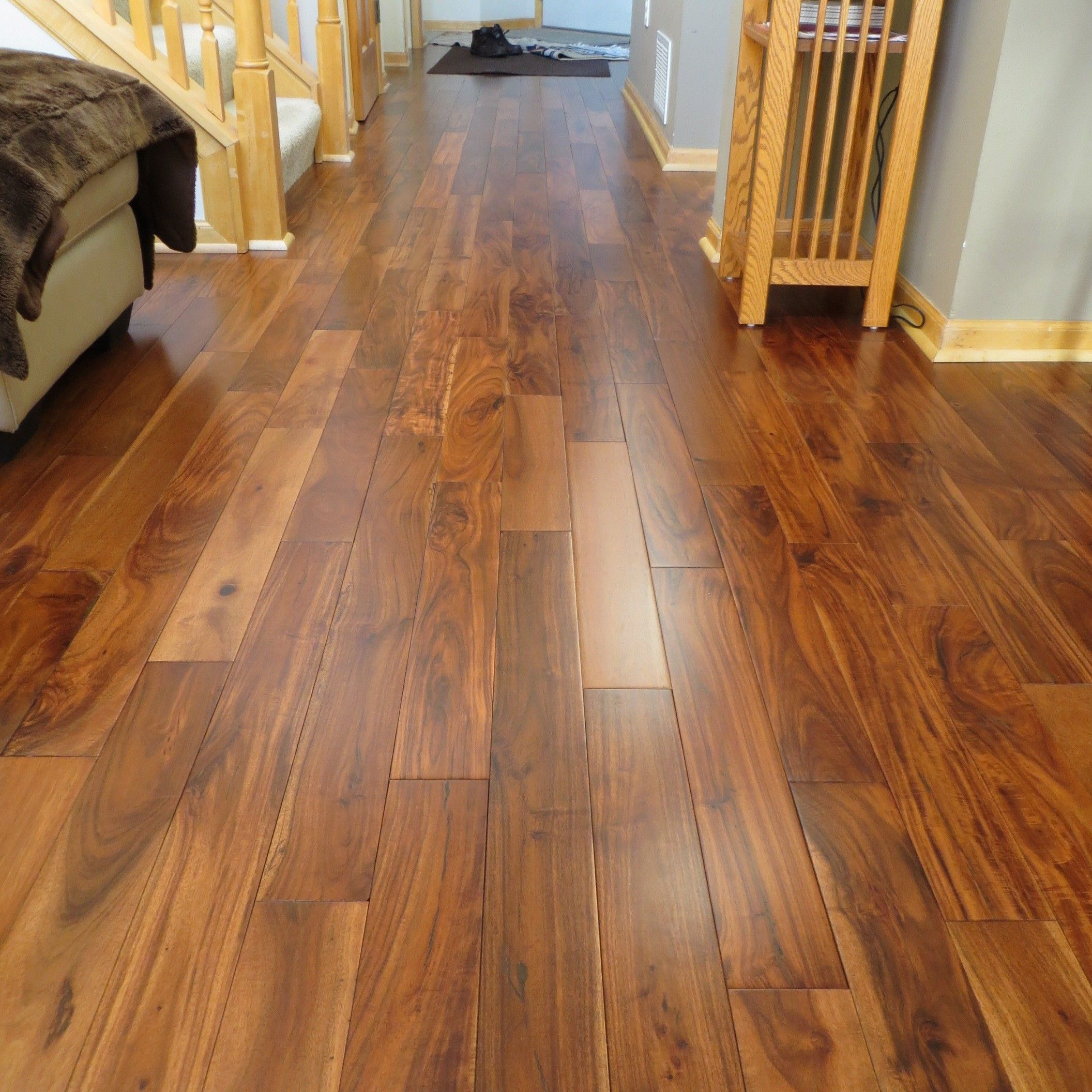 Acacia Asian Walnut Bronze Plank Hardwood Flooring I