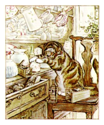 Beatrix Potter: but beware the roly-poly pudding.