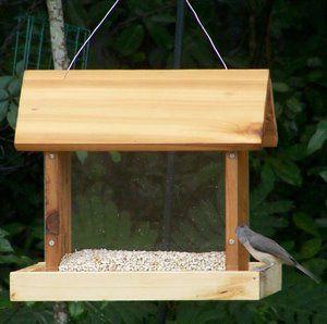 These Free Bird Feeder Plans Are For The Kreg Pocket Jig Fagelholk Ideer Hantverk