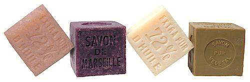 """Seife mit Reinheitsgebot die """"Savon de Marseille"""" besteht"""