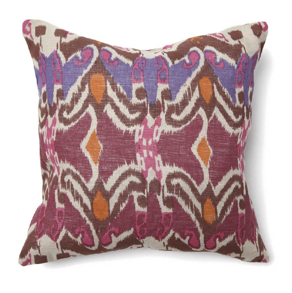 We love bright accent pillows!