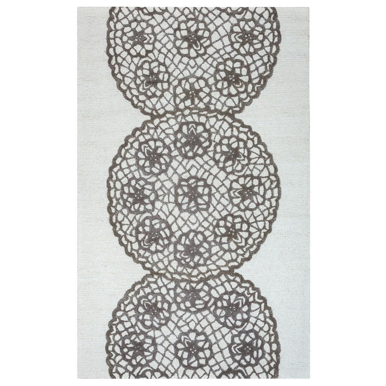 Rizzy Home Transitional Dimensions Collection Hand-Tufted Accent Rug