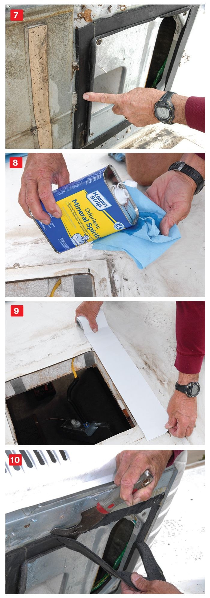 Roof Air Leak Repair Leak repair, Rubber roofing