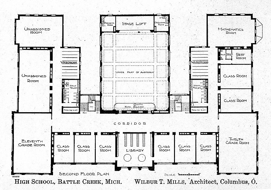 Floor Plans For School Buildings Unique Stylish Inspiration 9 Floor Plans For High School Showing Post Fre School Floor Plan School Floor School Building Plans