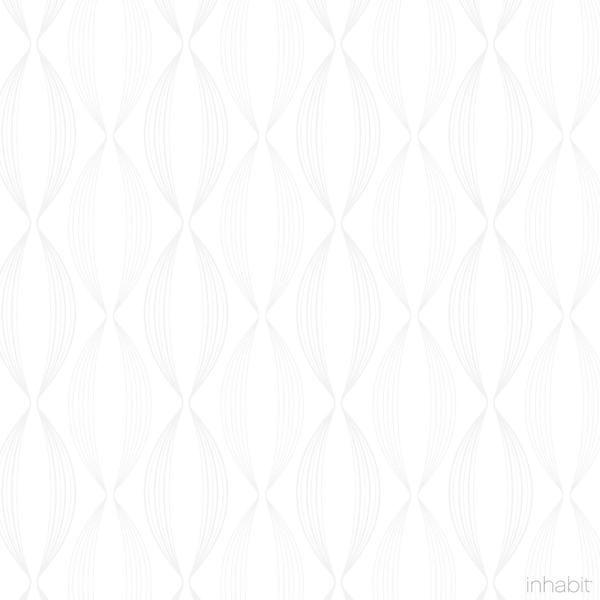 Thread Wallpaper In White U0026 Very Light Gray     Wallpaper   Inhabitliving. Com