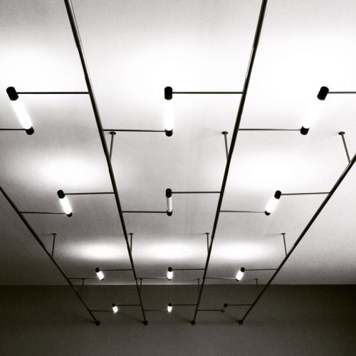 bauhaus-movement Walter Gropius Lights at #Bauhaus Dessau - led strips k che