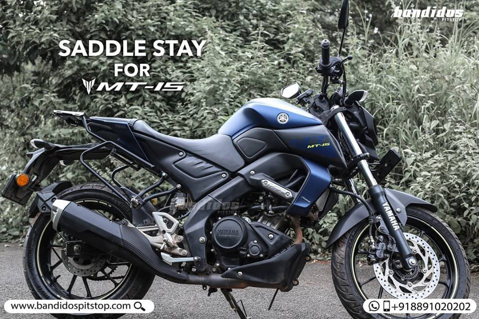 Don T Let Lack Of Space Stop You From Touring On Your Yamaha Mt 15