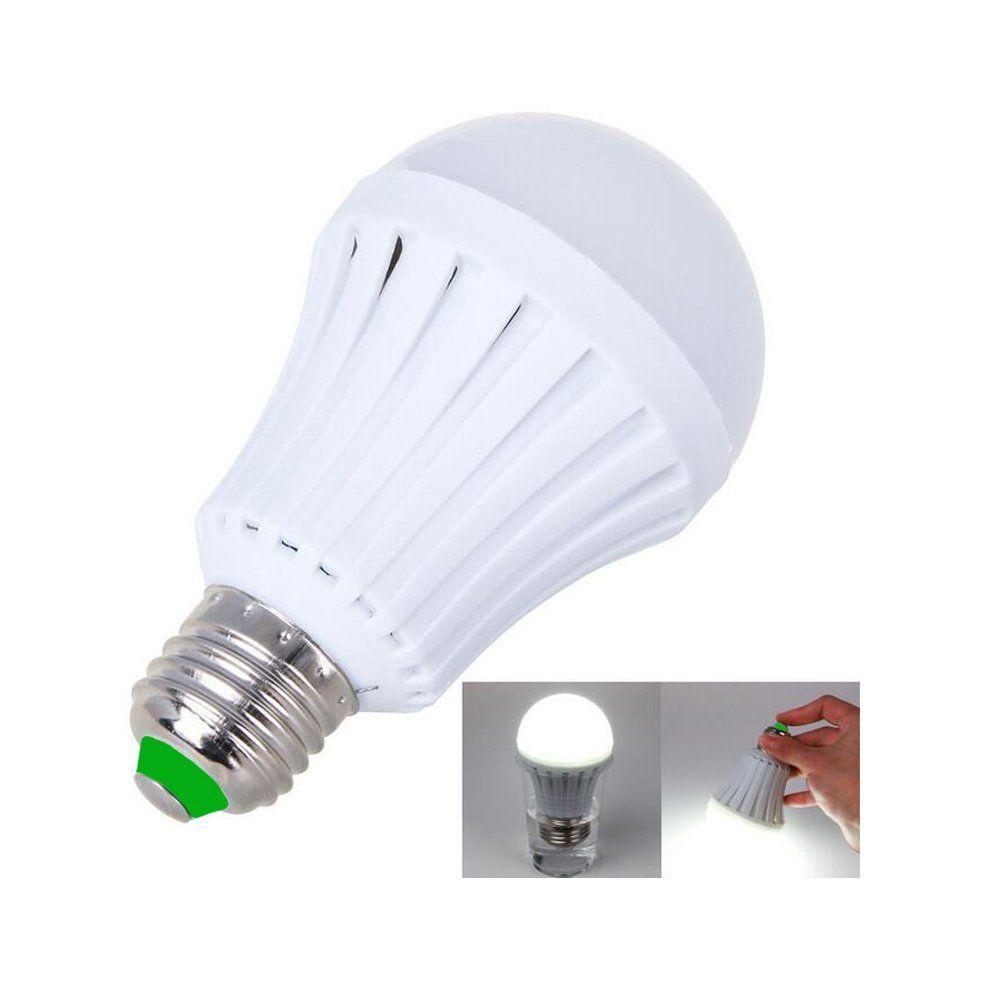 Ac85 265v E27 5 W 7 W 9 W 12 W Levou Luz Lampada Led Recarregavel De Emergencia Lampada De Iluminacao De Bateria Intelig Emergency Lighting Battery Lights Lamp