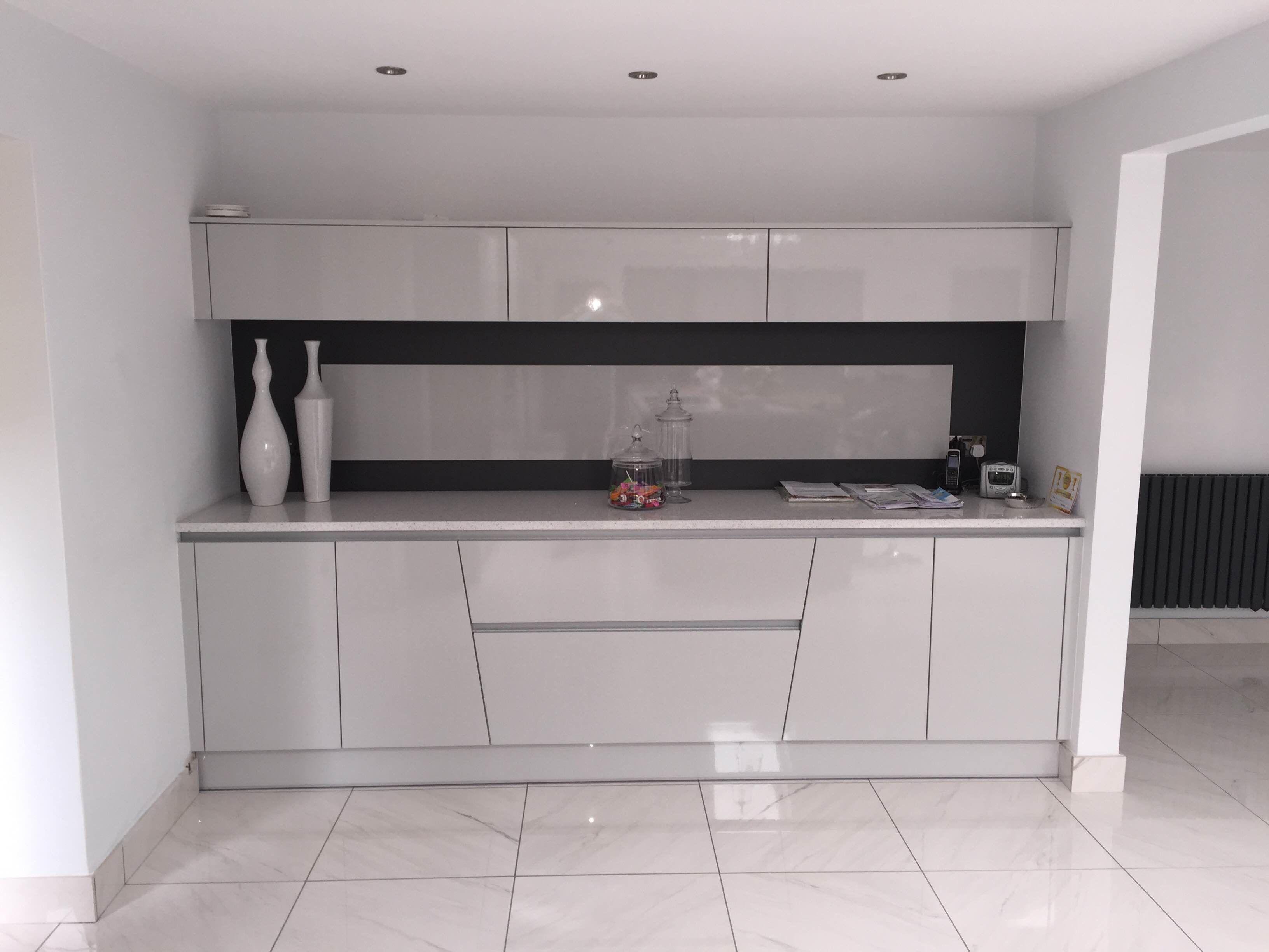 real kitchen inspiration flight angled units in light grey real rh pinterest com