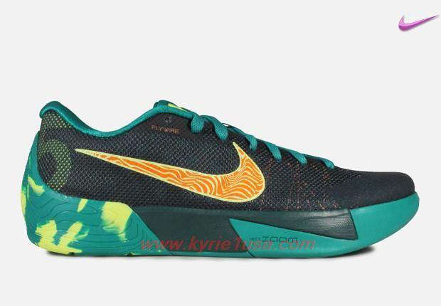 Nike KD Trey 5 II 653657378 Dark EmeraldVoltTotal Orange