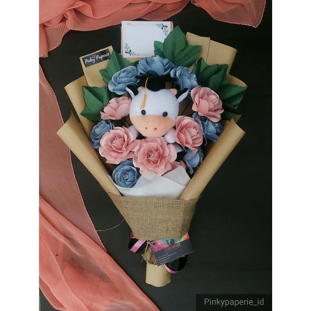 Handmade Paper Flowers Buket Bunga Kertas Jogja Sekarang Diskon 19 Pre Order 3 5 Hari Pinkypaperie Paperflowers Buketbung Buket Bunga Bunga Kertas Bunga