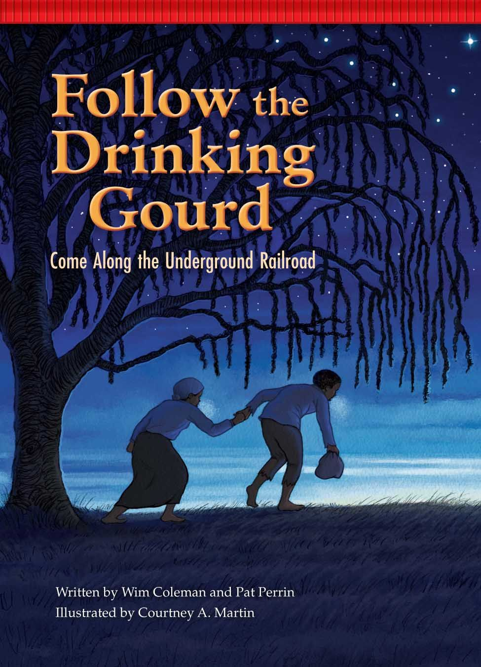 red chair press. (Red Chair Press) Follow The Drinking Gourd: Come Along Underground Railroad | Red Press O