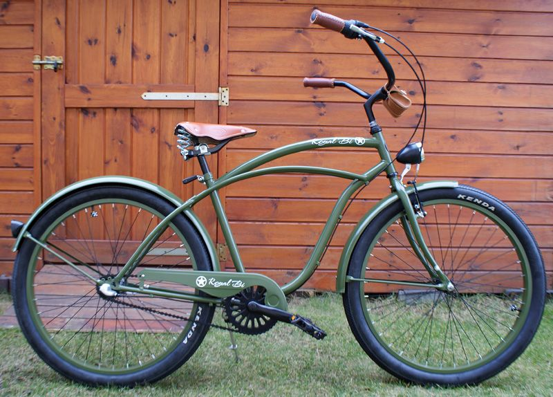 Rower Cruiser Us Army Bike Cruiser Beachbike Beachcruiser Royalbi Rower Miejski Www Royalbi Pl