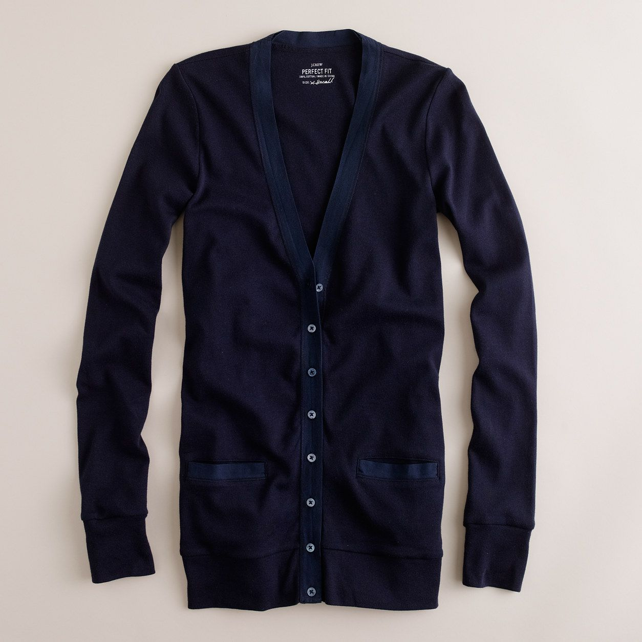 Perfect-fit mixed-tape cardigan - jackets & cardigans - Women's ...