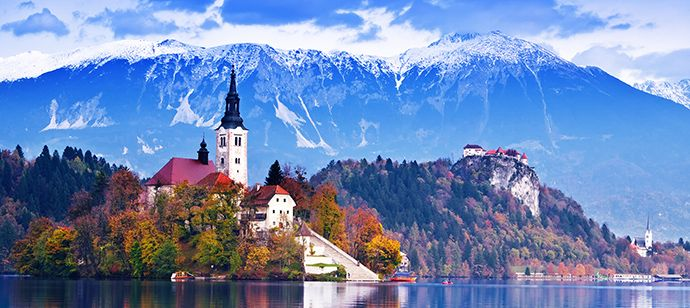 Slovenia Tourism חיפוש ב Google Lake Bled Tourist Spots Bled Slovenia