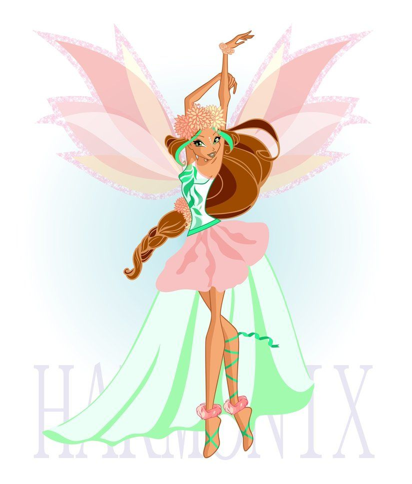 Winx Club Sparklix Winx Club Sparklix Colouring Pages Page 2