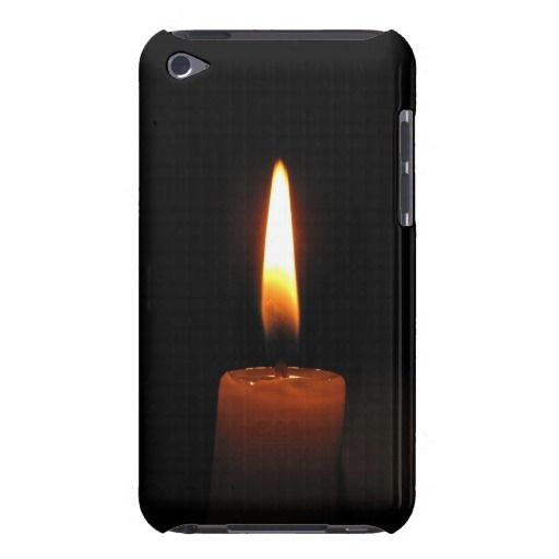 Candle Flame Barely There iPod Case