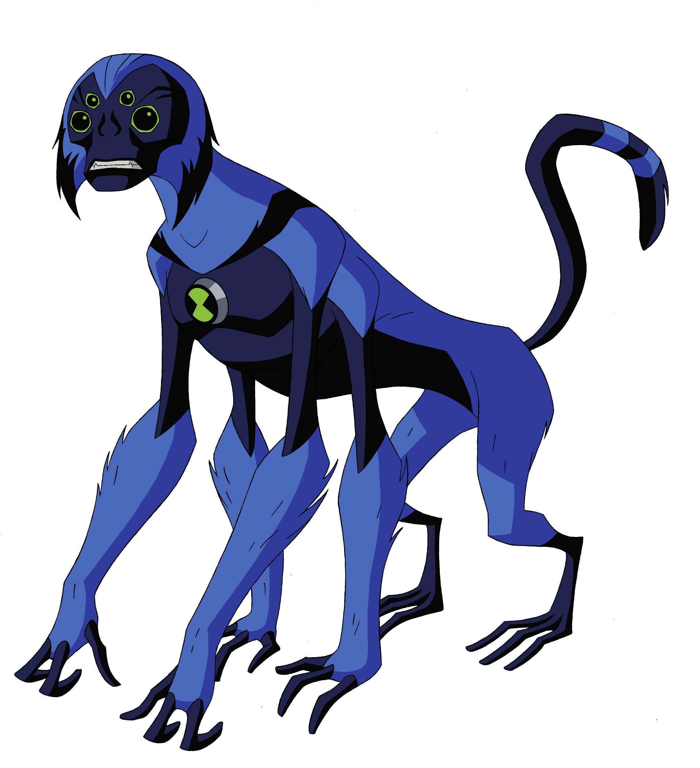 Spidermonkey ben 10 alien force | Ben 10 | Pinterest