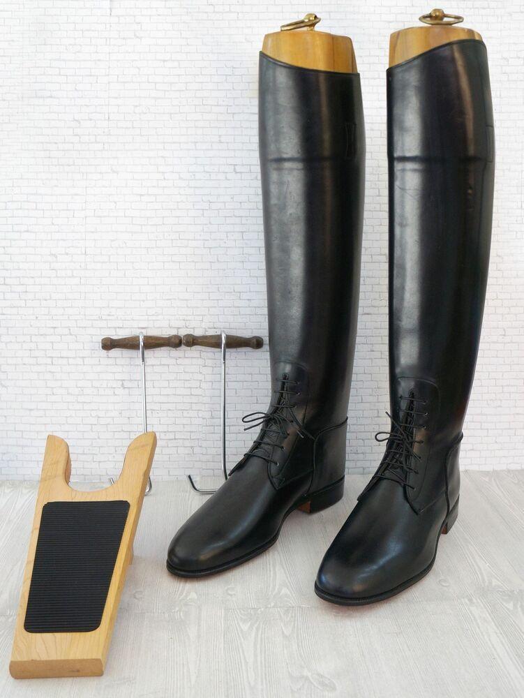 f3cdbc59d2b eBay #Sponsored WOMEN'S Custom English Equestrian Black Riding Boots ...