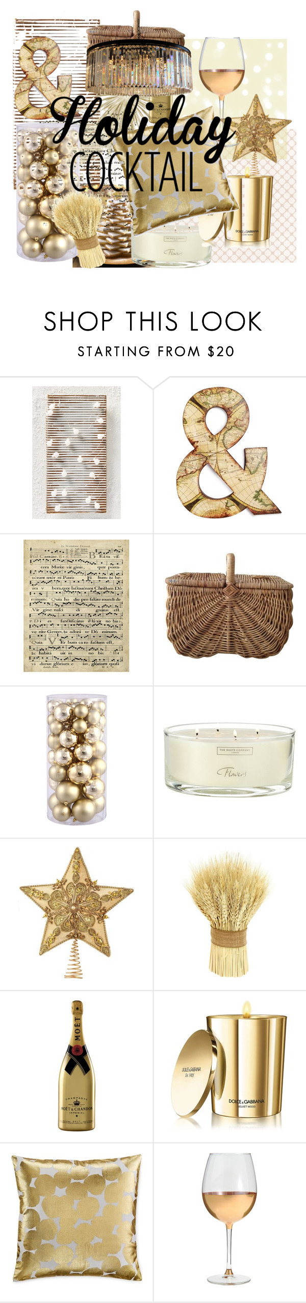 """""""Good as Gold"""" by mrb1234mrb ❤ liked on Polyvore featuring interior, interiors, interior design, home, home decor, interior decorating, Graham & Brown, Art Classics, Smith & Hawken and Dolce&Gabbana"""
