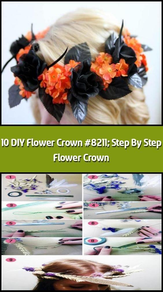 10 DIY Flower Crown  Step By Step Flower Crown  Flower crowns have bcrown