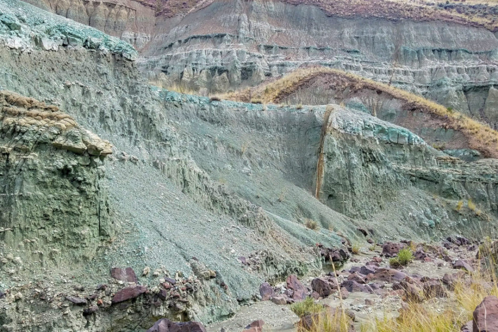 Wild country: Coffee, cults, and prehistoric creatures have all left their mark on Oregon's John Day Fossil Beds #prehistoriccreatures