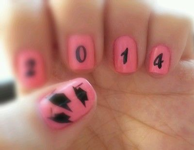 2017 Graduation Cap Nail Art Decal Stickers Http M Ebay