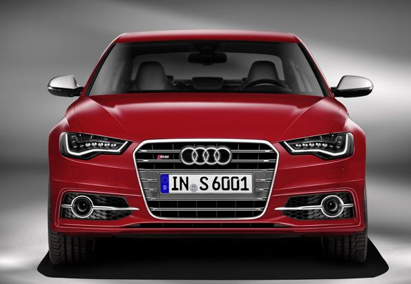 The Audi S6.