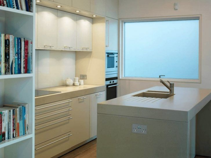50 White Kitchen Inspirations That Function | Kitchen Design | Pinterest