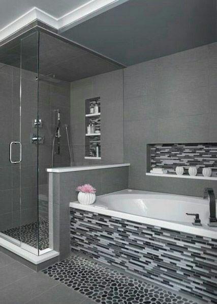 Modern Medium Bathroom Bathroom Remodel Master