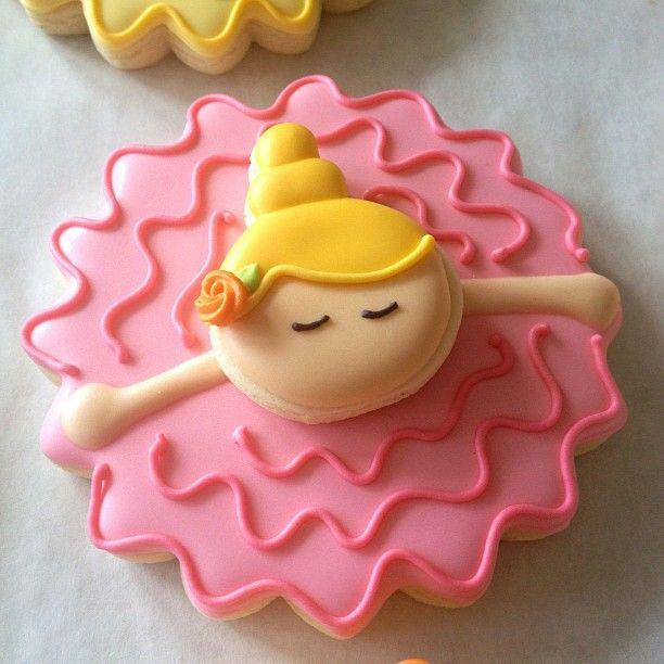 Bailarina cookies