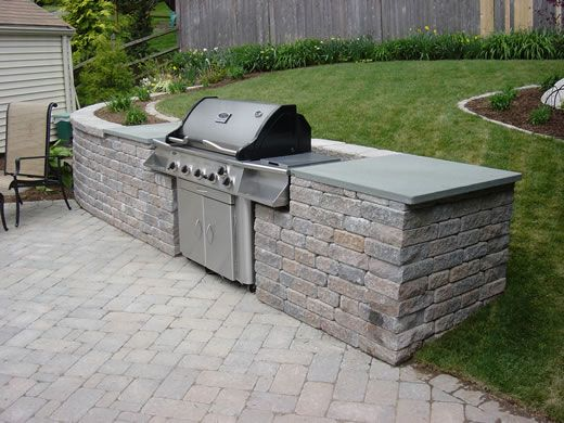 Hottest Landscape Trends in Outdoor Living |Outdoor Kitchen Freestanding Grill
