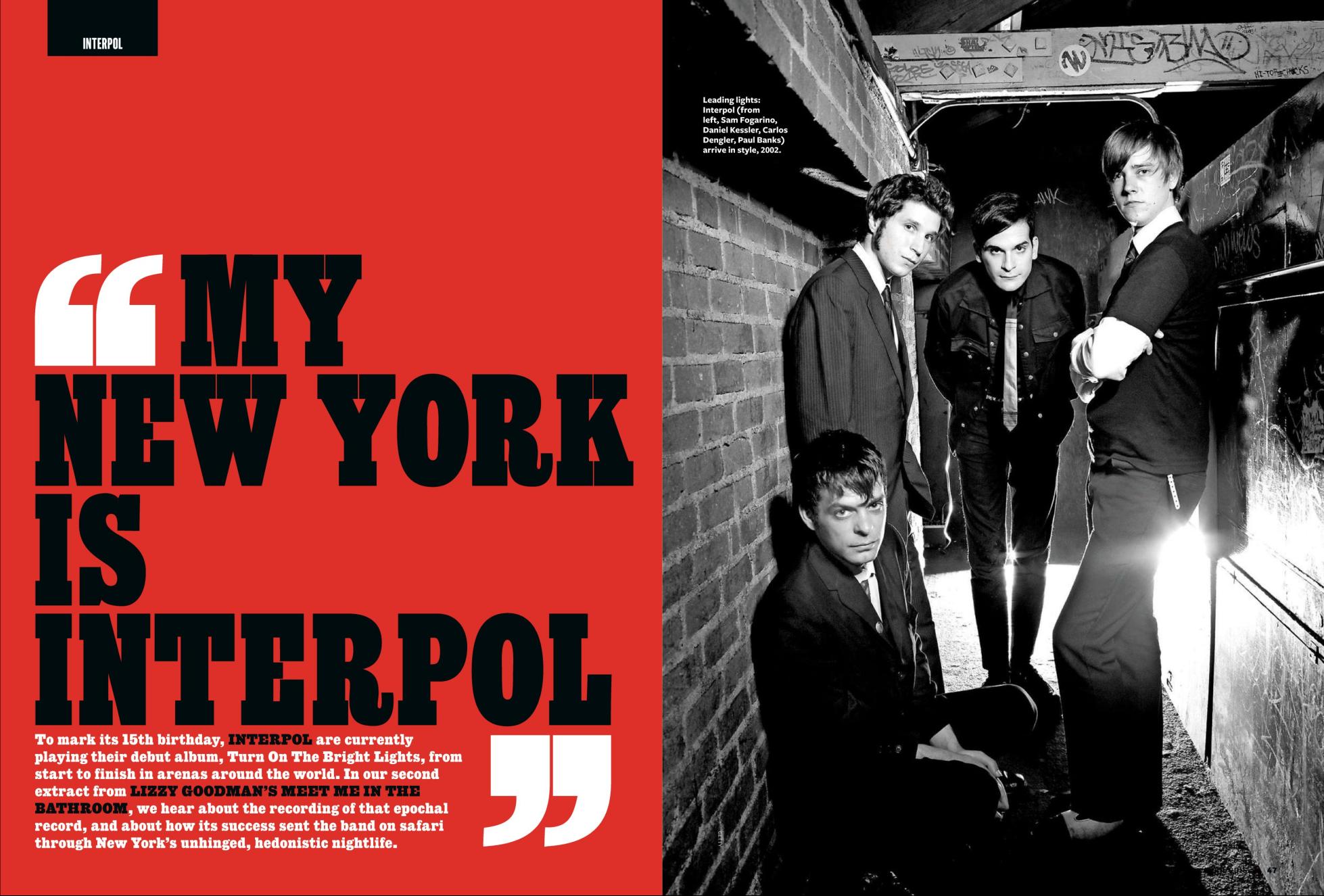 Q Magazine UK \u2013 Interpol