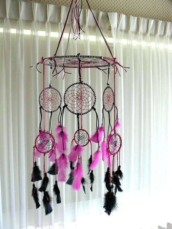 Dream Catcher móvil por Winchestergems en Etsy