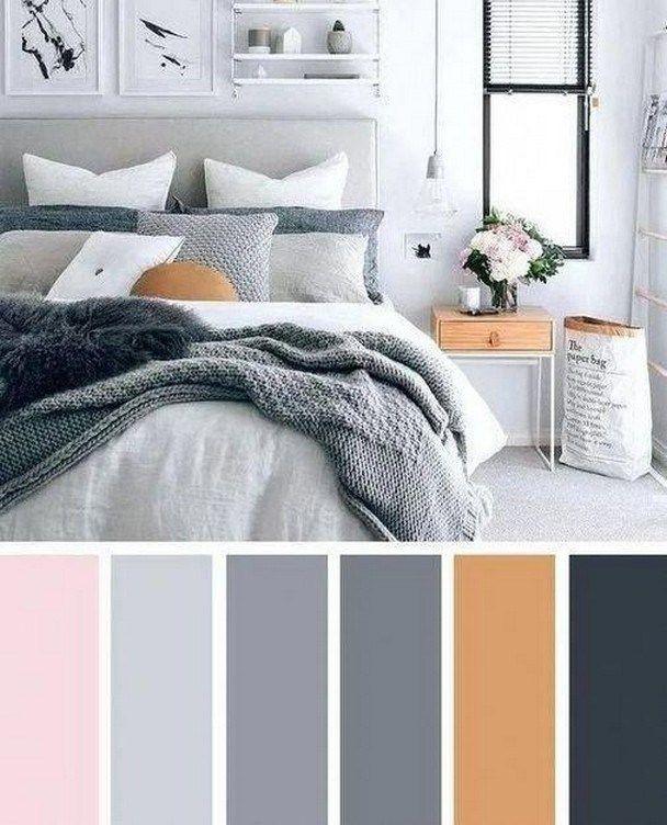 71 Inspiring Bedroom Colour Ideas 1 In 2020 Beautiful Bedroom