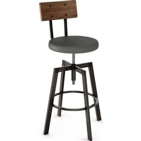 Metal And Wood Rustic Barstools For Sale Google Search Metal Stool Adjustable Stool Adjustable Bar Stools