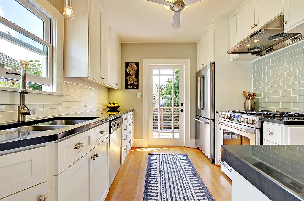 How To Make A Galley Kitchen Look