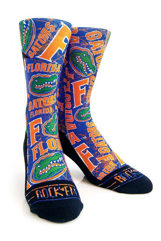 Florida Gators Argyle Crew Dress Socks