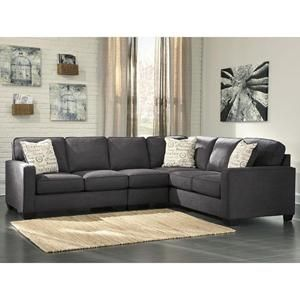 Best Alenya 3 Piece Sectional With Left Facing Loveseat In 400 x 300