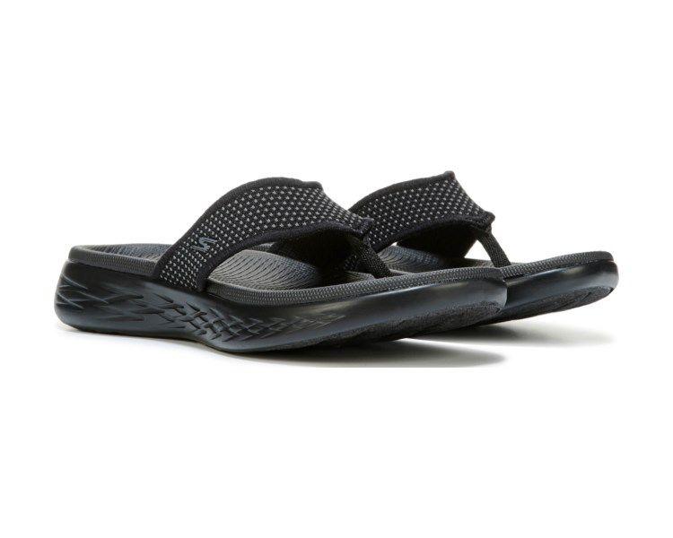 Skechers On The Go Sandal Black Sandals Black Sandals Skechers On The Go