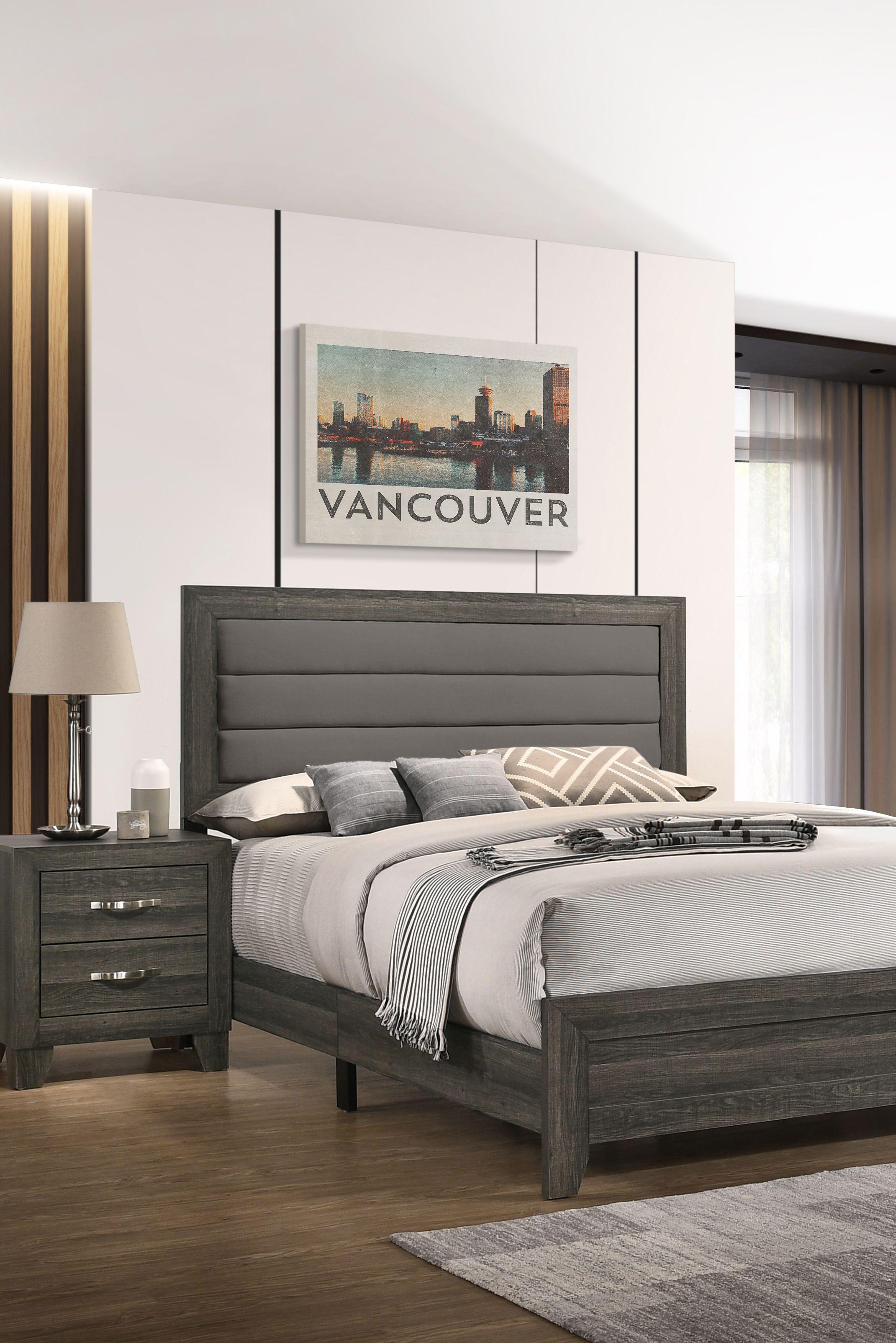 The modernstyled Darby 4 piece Queen Bedroom Set is 396