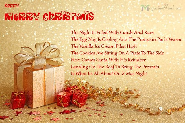 Merry Christmas SMS Messages With Images For Cards | SMS Urdu ...