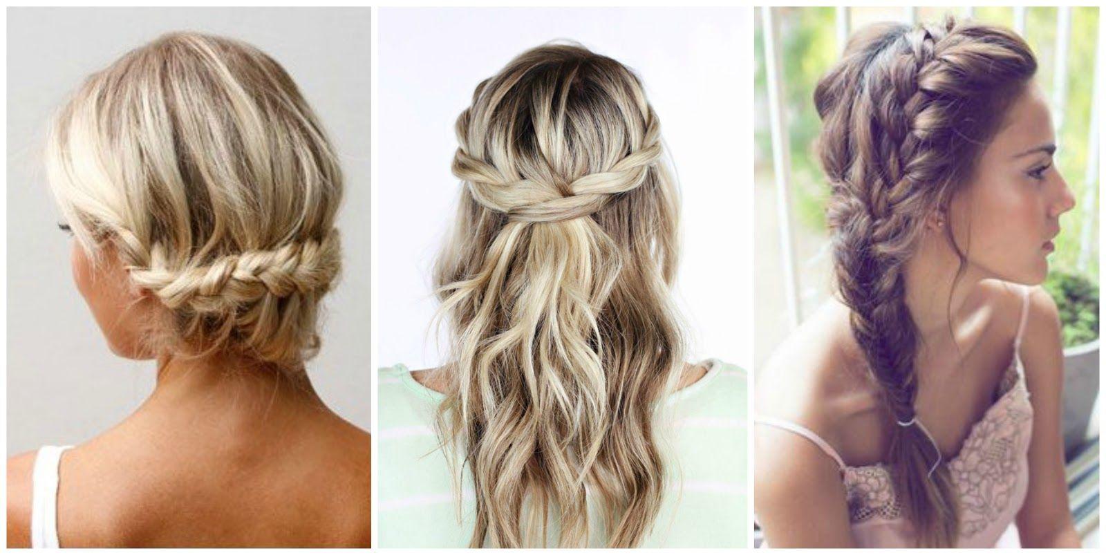 Idea de peinado trenzas para una boda vintage si como - Peinados elegantes para una boda ...