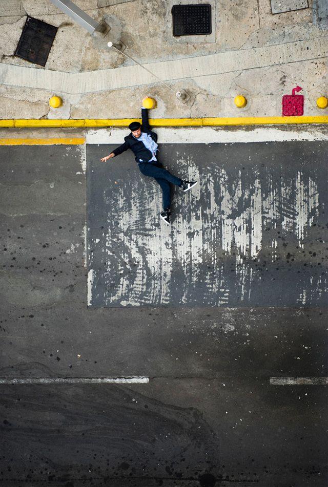 El fotògraf Christian Åslund transforma els carrers de Hong Kong en un videojoc 2D