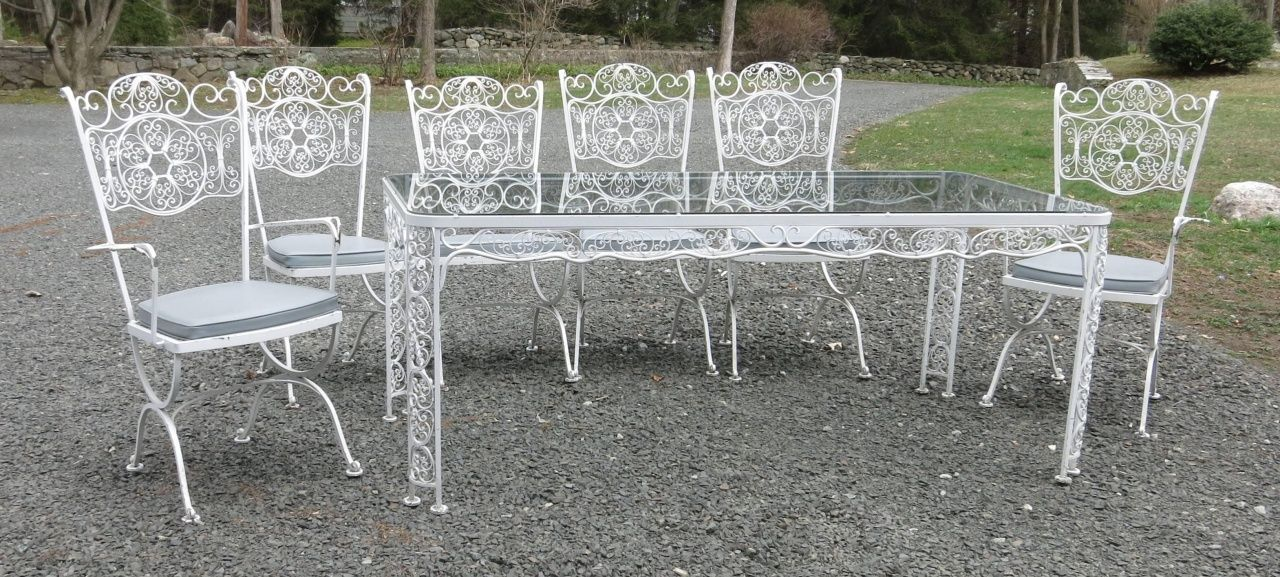 Woodard Wrought Iron Patio Furniture Furniture Iron Patio