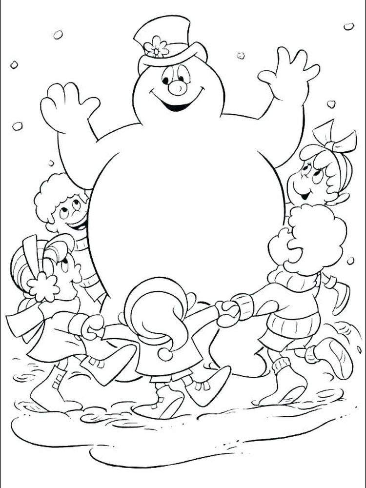 Snowman Coloring Pages Images The Following Is Our Collection Of Cool Snowman Coloring Pag Snowman Coloring Pages Christmas Coloring Sheets Frosty The Snowmen