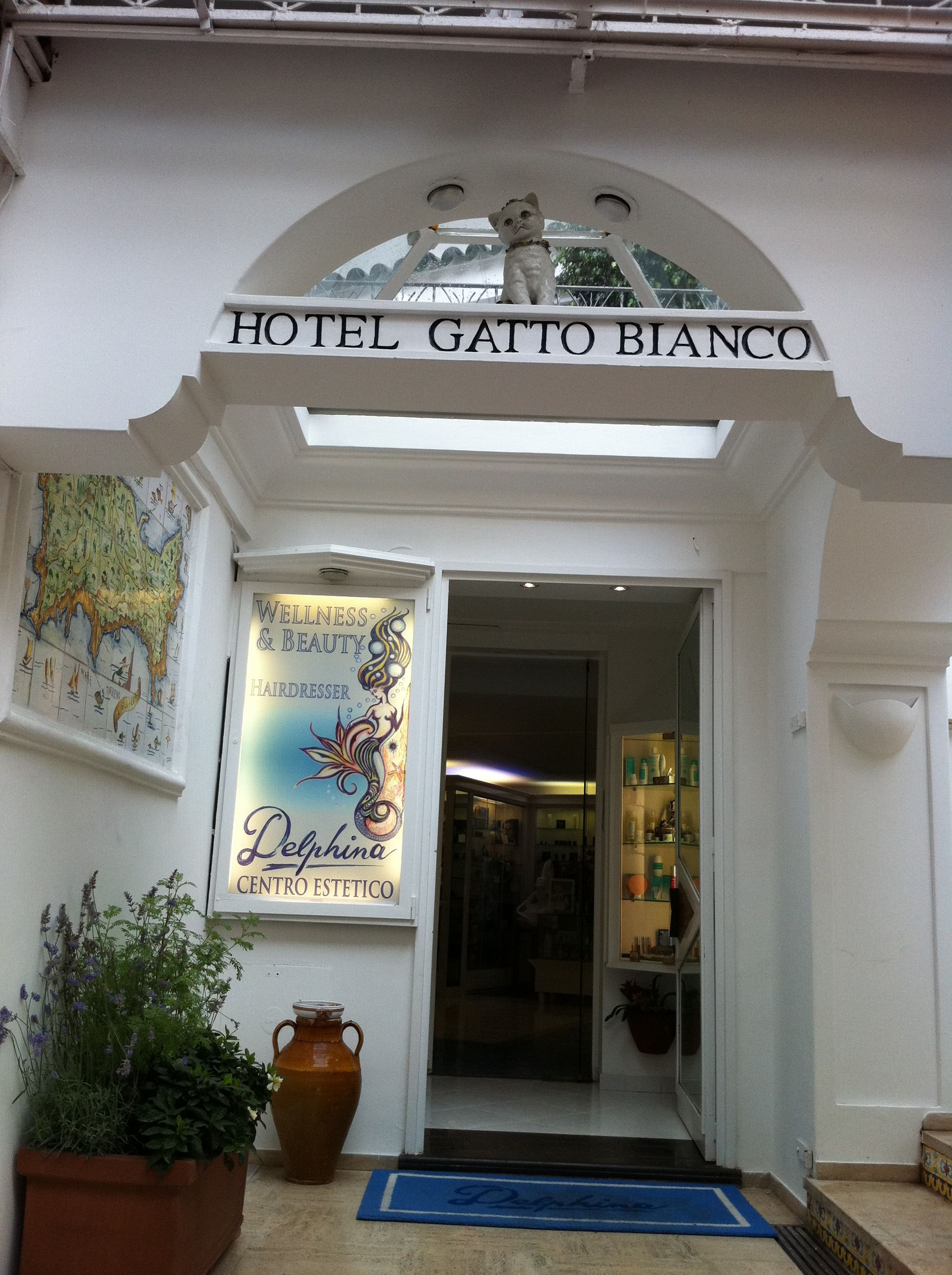 Ridecolorfully Hotel Gatto Bianco In Capri Ride Colorfully