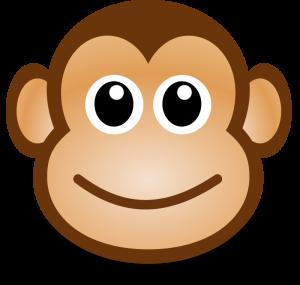 monkey face animals clipart pinterest monkey and clip art rh pinterest com free monkey face clipart happy monkey face clipart