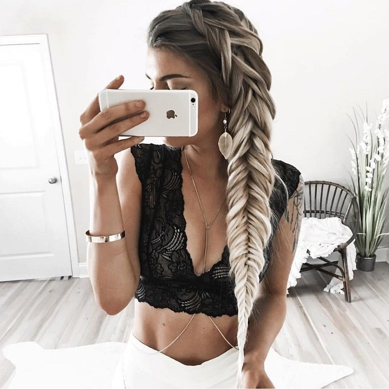 52 Trendy Chic Braided Hairstyle Ideas You Should Try
