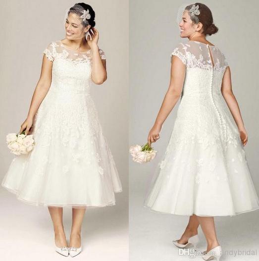 Die schönsten Hochzeitskleider für kurvige Frauen